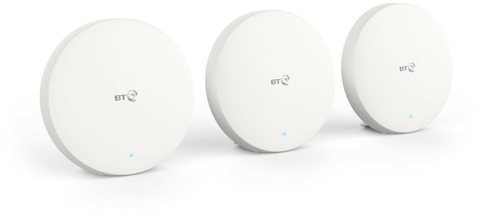BT Mini Whole Home Dual-Band Wi-Fi AC1200 Triple Pack