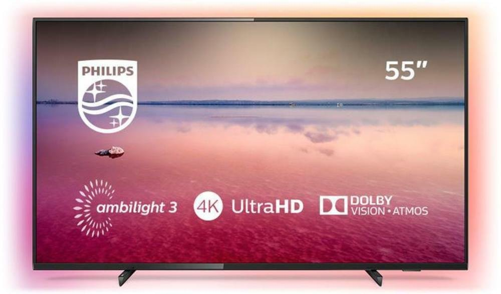 Philips 55 Inch 55PUS6704 Smart 4K HDR LED TV