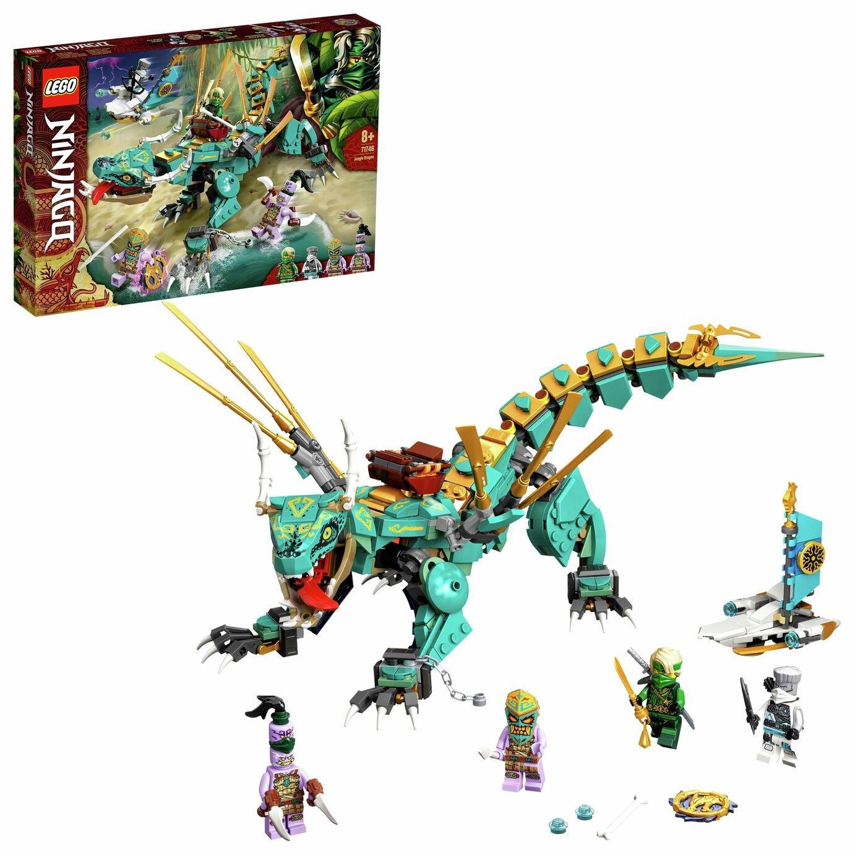 LEGO NINJAGO Jungle Dragon Toy Building Set 71746