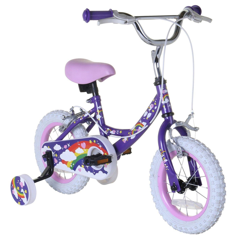 Rainbow 12 inch Wheel Size Kids Bike