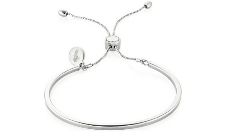 Buckley London Piccadilly Silver Coloured Bangle