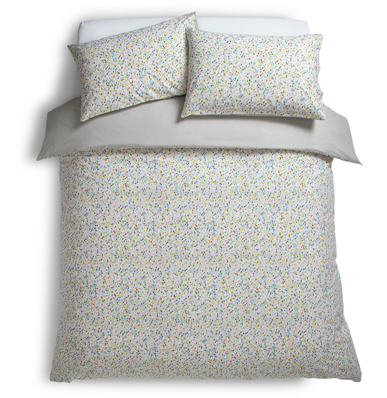 Habitat Angelica Dots Bedding Set - Double