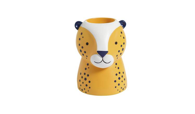 Argos Home Leopard Head Planter