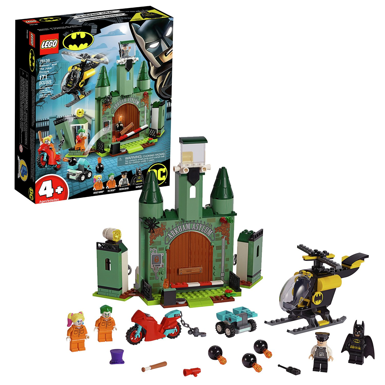 LEGO Super Heroes Arkham Asylum Playset - 76138