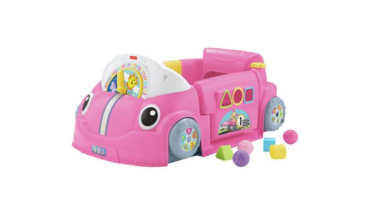 Fisher-Price Laugh and Learn Car Park - Pink