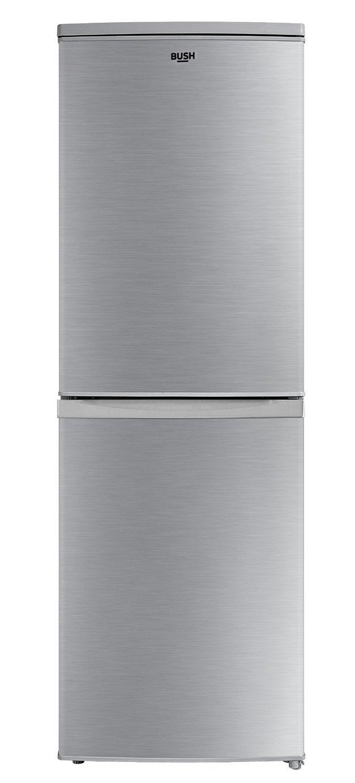 Bush ME50152FFS Fridge Freezer - Silver