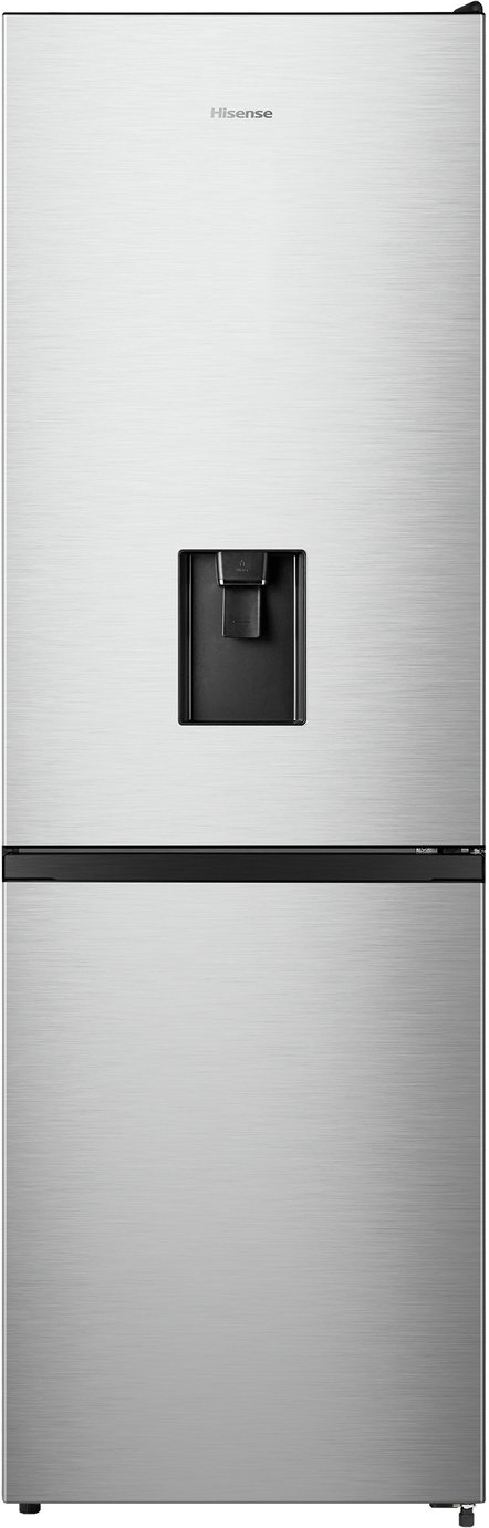 Hisense RB390N4WC1 70/30 Frost Free Fridge Freezer - Stainless Steel - A+ Rated
