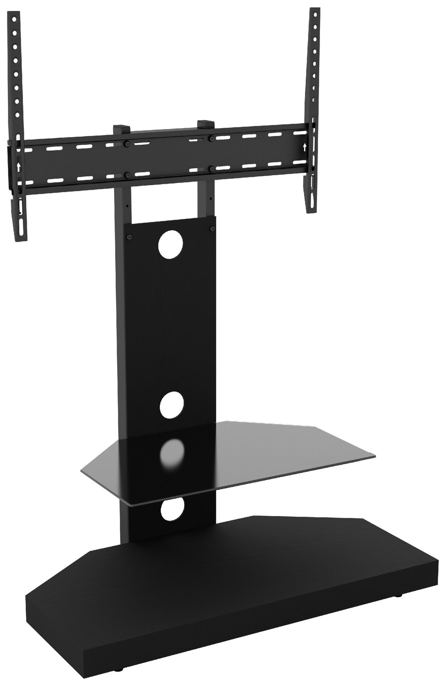 AVF Wood Effect Mount Up To 60 Inch TV Stand - Black