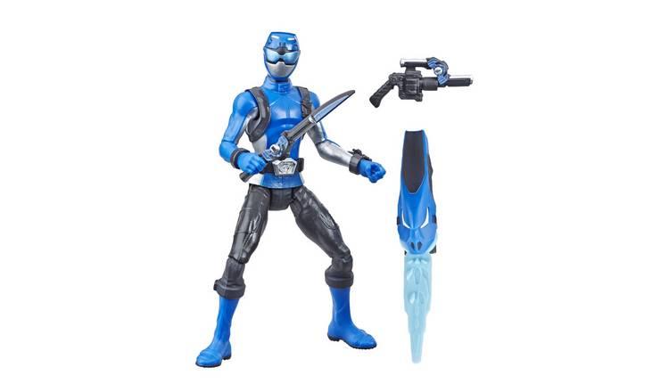 Buy Power Rangers Beast Morphers Blue Ranger   Playsets and figures   Argos