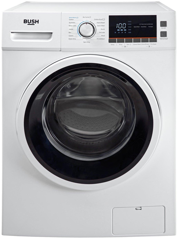 Bush WMSAEX1214W 12KG 1400 Spin Washing Machine - White
