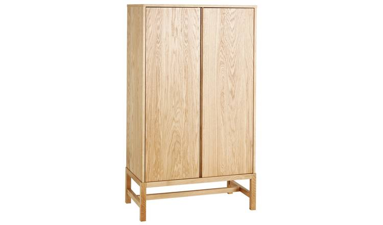 Habitat Drio 2 Door Oak Cupboard
