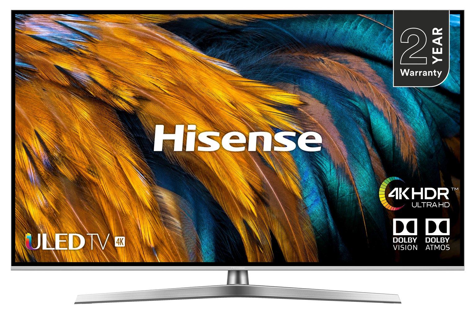 Hisense 55 Inch H55U7BUK Smart 4K HDR LED TV