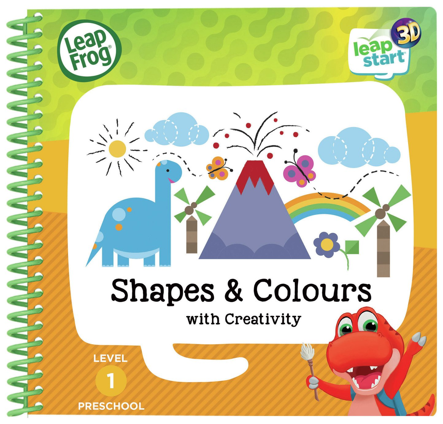 LeapFrog Shapes and Colours Activity Book