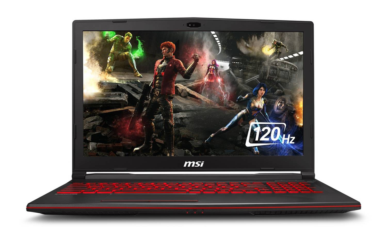 MSI GL63 15.6 Inch i7 8GB 256GB 1TB GTX1660Ti Gaming Laptop