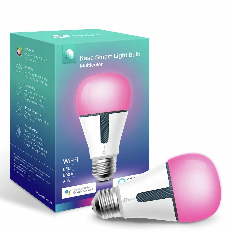 TP-Link KL130 Kasa Smart E27 Wi-Fi Multicolour Bulb