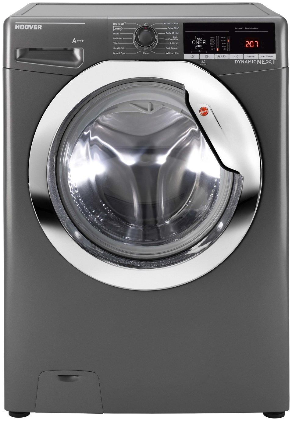 Hoover DWOA411HLC3G 11KG 1400 Spin Washing Machine -Graphite