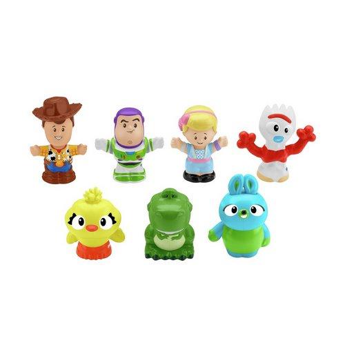 Disney Pixar Toy Story 4 Little People 7 Figure Pack by Argos