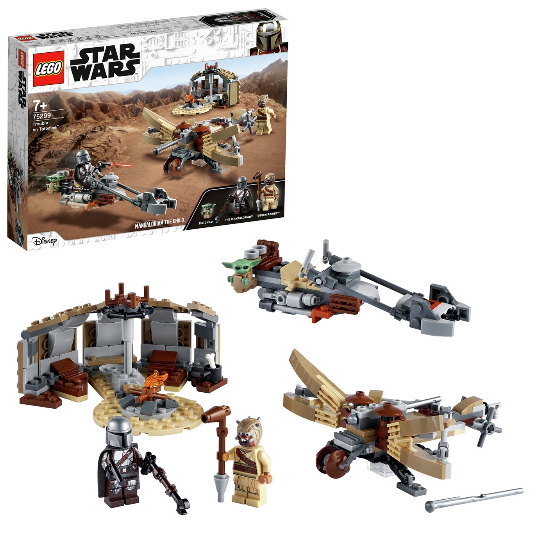 LEGO Star Wars The Mandalorian Trouble on Tatooine Set 75299
