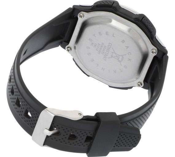 Buy Constant Mens Black Digital Multi Function Strap Watch Mens