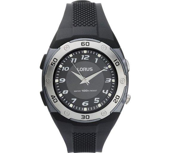 buy lorus men s sports led watch at argos co uk your online shop loading