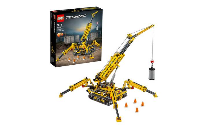 LEGO Technic Compact Crawler Crane Construction Set - 42097