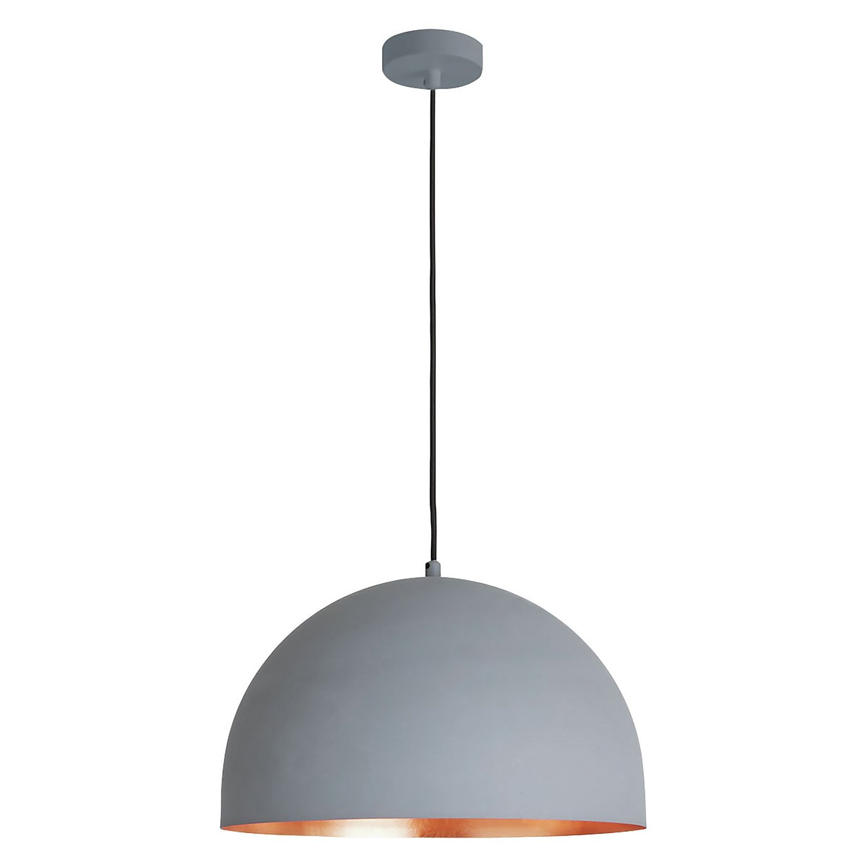 Habitat East Pendant Ceiling Light - Copper and Grey
