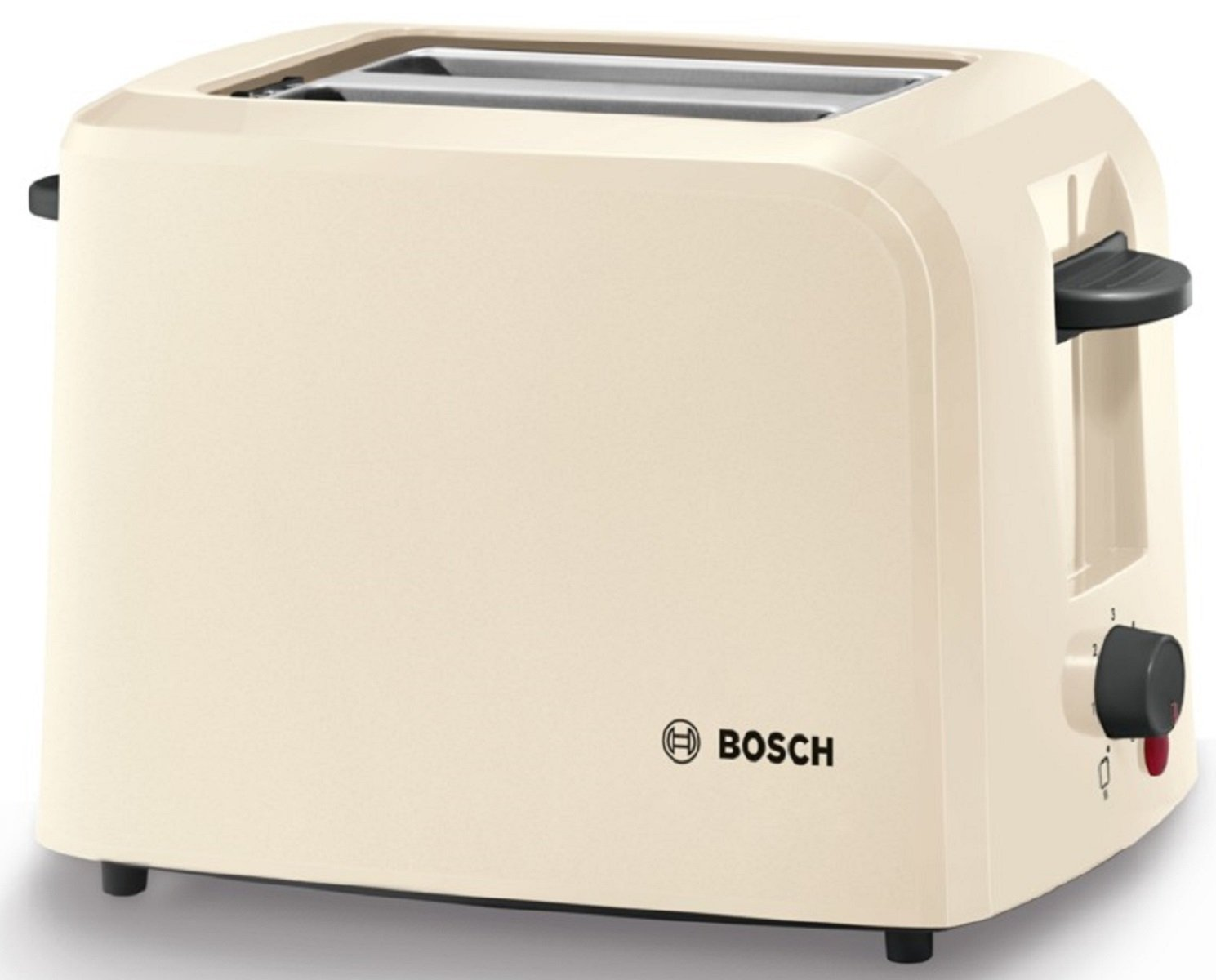 Bosch TAT3A0175G Village 2 Slice Toaster - Cream