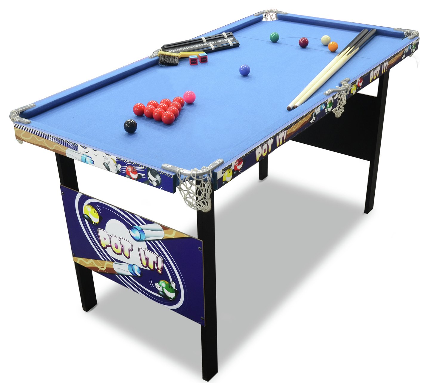 Sale On Chad Valley 4ft Snooker Pool Game Table Chad