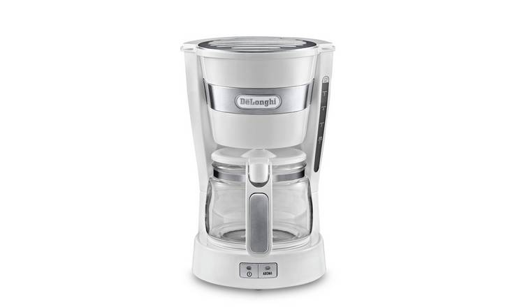 De'Longhi ICM14011.W Active Line Coffee Machine - White