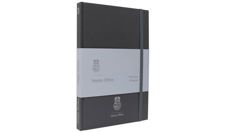 Home Office Premium A5 Notebook