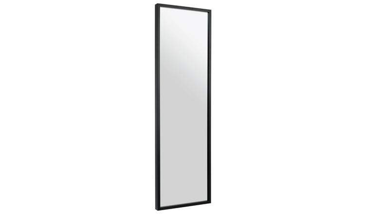 Habitat Dark Birch Black Full Length Wall Mirror