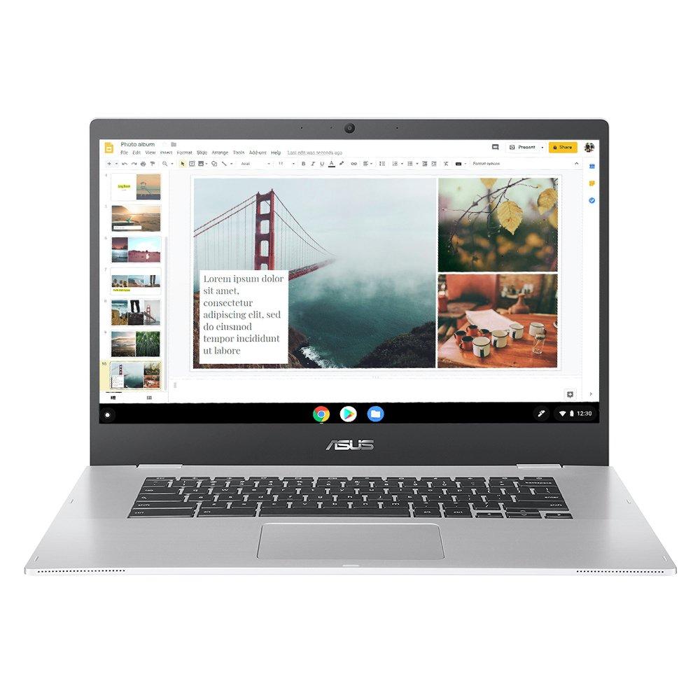 ASUS CX1500 15.6in Celeron 4GB 64GB Chromebook - Silver