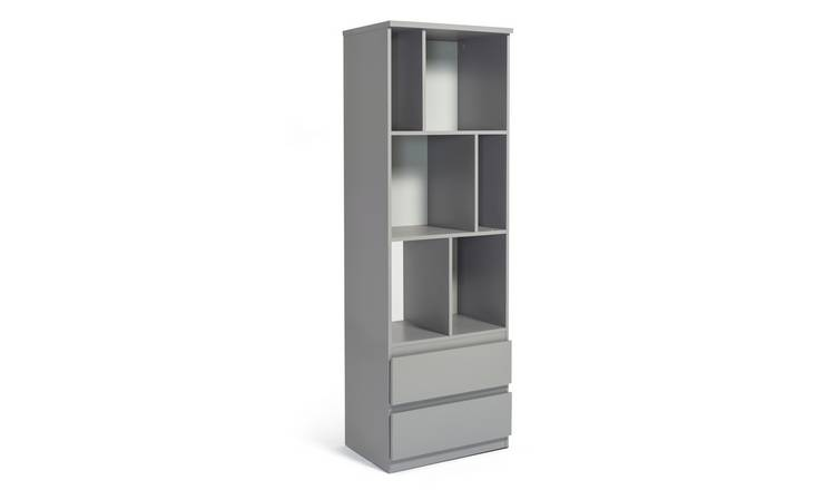 Habitat Jenson 2 Shelf Bookcase - Grey