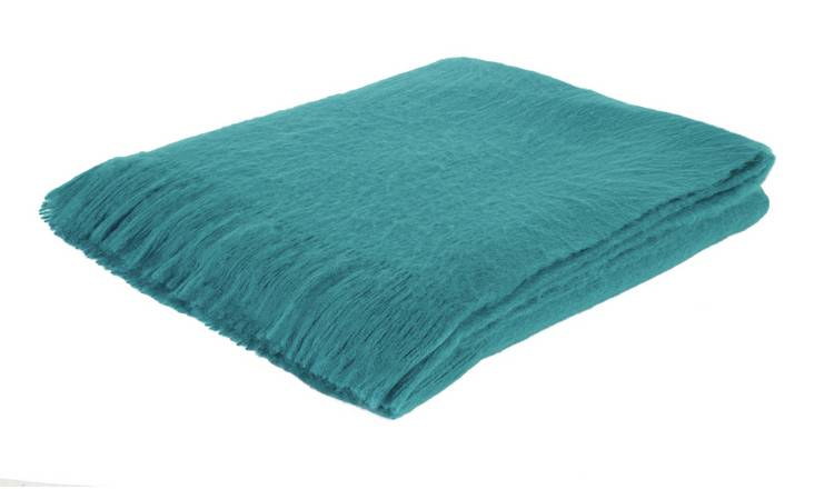 Habitat Nylah Acrylic Throw - 130 x 170cm - Teal