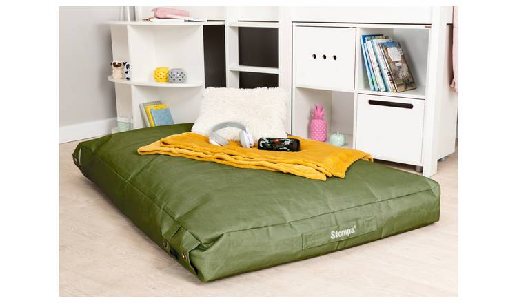 Stompa Buckle Lounger Bean Bag - Khaki
