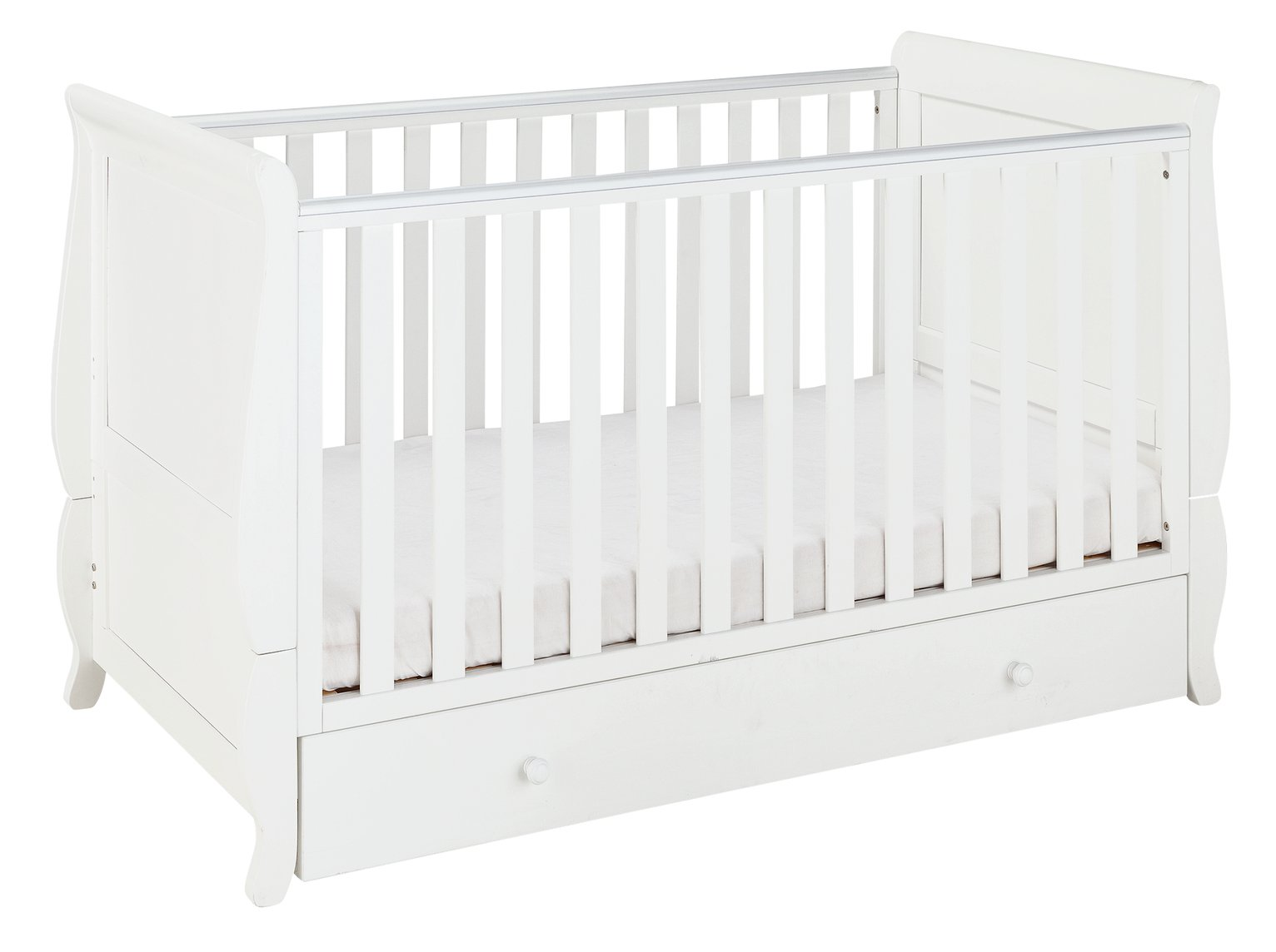 Cuggl Westbury Cot Bed and Drawer