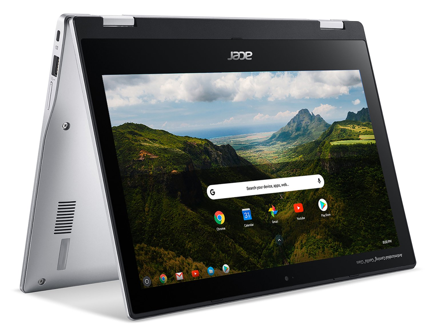 Acer Spin 311 11.6in MTK 4GB 32GB 2-in-1 Chromebook - Silver