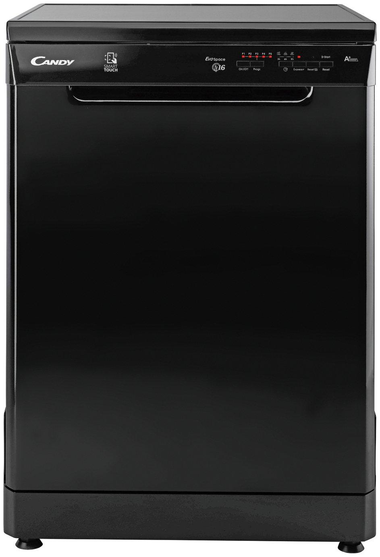 Candy CDPN 1L670SB 16 Place Full Size Dishwasher - Black