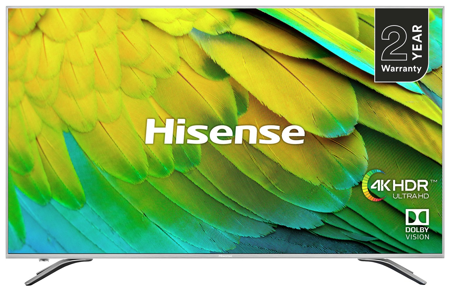 Hisense 75 Inch H75B7510UK Smart 4K HDR LED TV