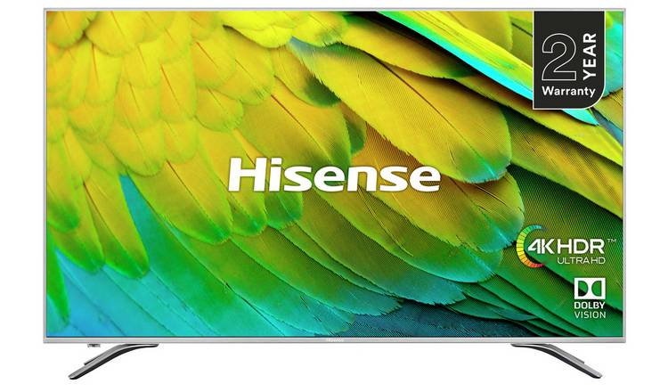 Hisense 75 Inch H75B7510UK Smart 4K HDR LED TV