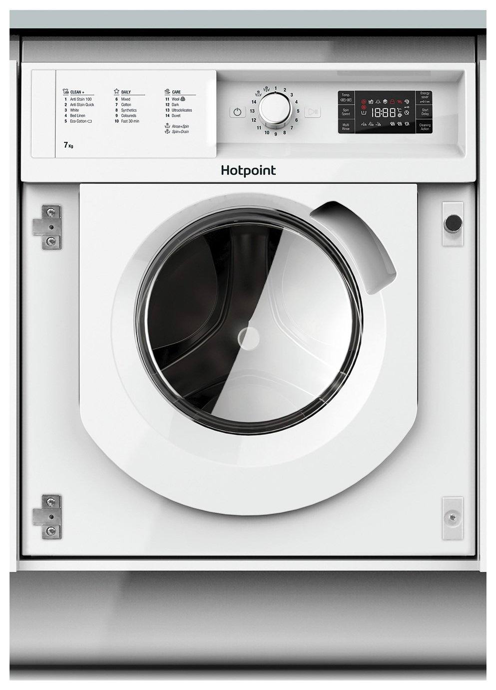 Hotpoint BIWMHG71484 7KG 1400 Spin Washing Machine - White