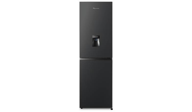 Fridgemaster MC55251MDB Frost Free Fridge Freezer - Black