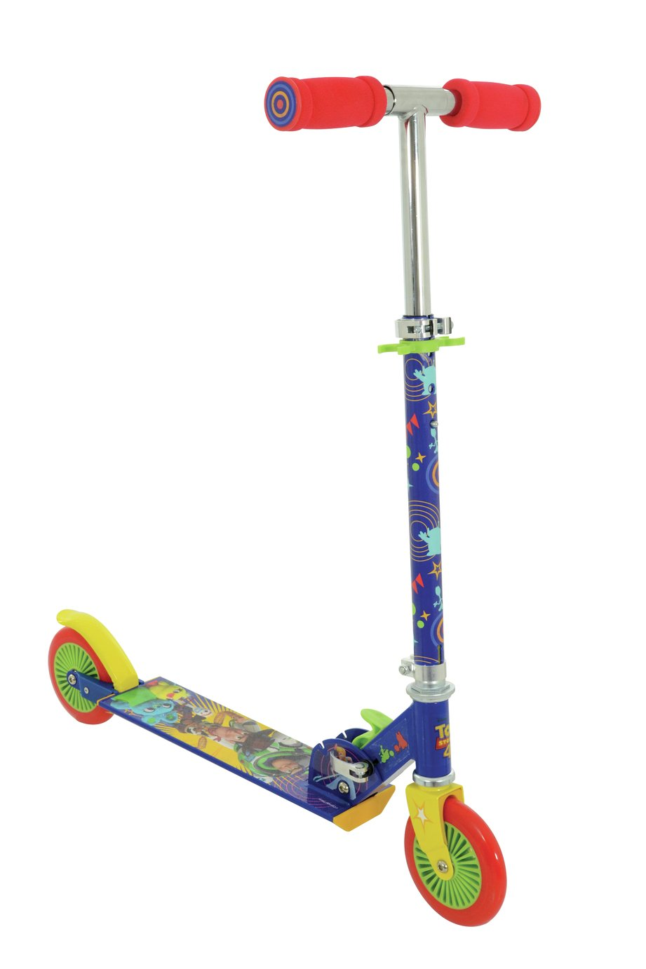 Disney Toy Story 4 Folding Inline Scooter