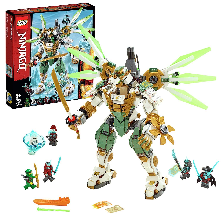 LEGO Ninjago Lloyds Titan Mech Playset - 70676