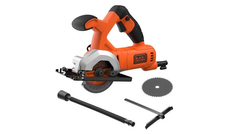 Black + Decker Corded Mini Circular Saw - 400W