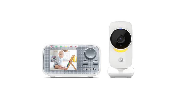 Motorola MBP 482 ANXL Nighlight Video 2.8 Inch Baby Monitor