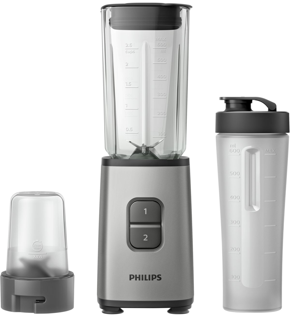 Philips HR2605/81 Daily Mini Blender - Stainless Steel