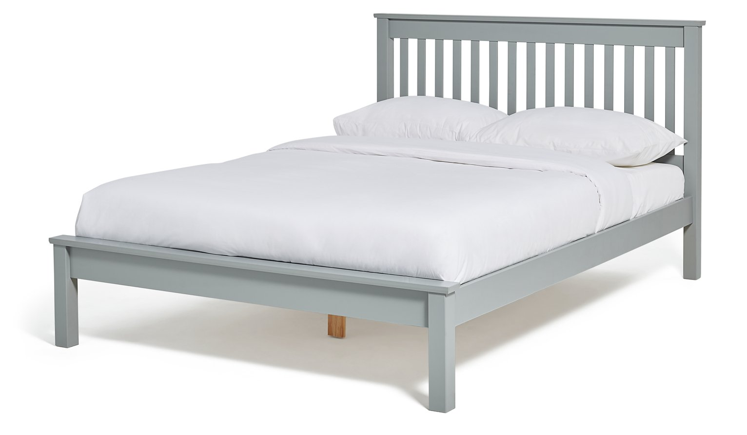 Argos Home Aspley Small Double Bed Frame - Grey