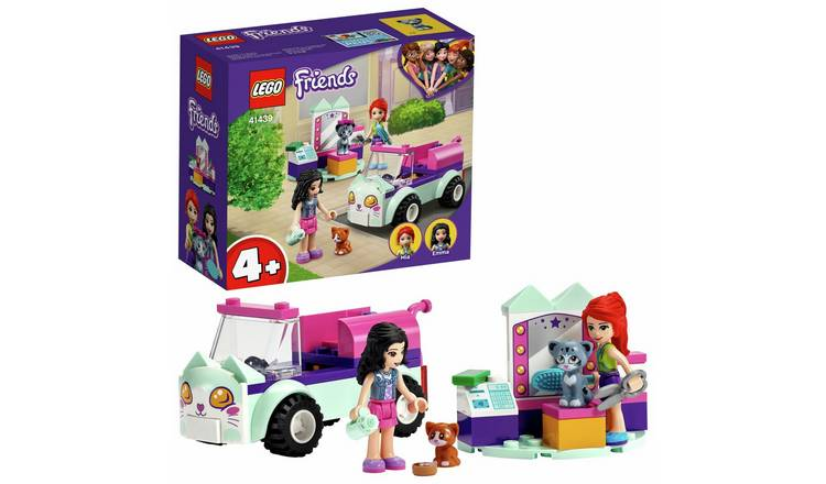 LEGO Friends 4+ Cat Grooming Car Toy Kittens Playset 41439
