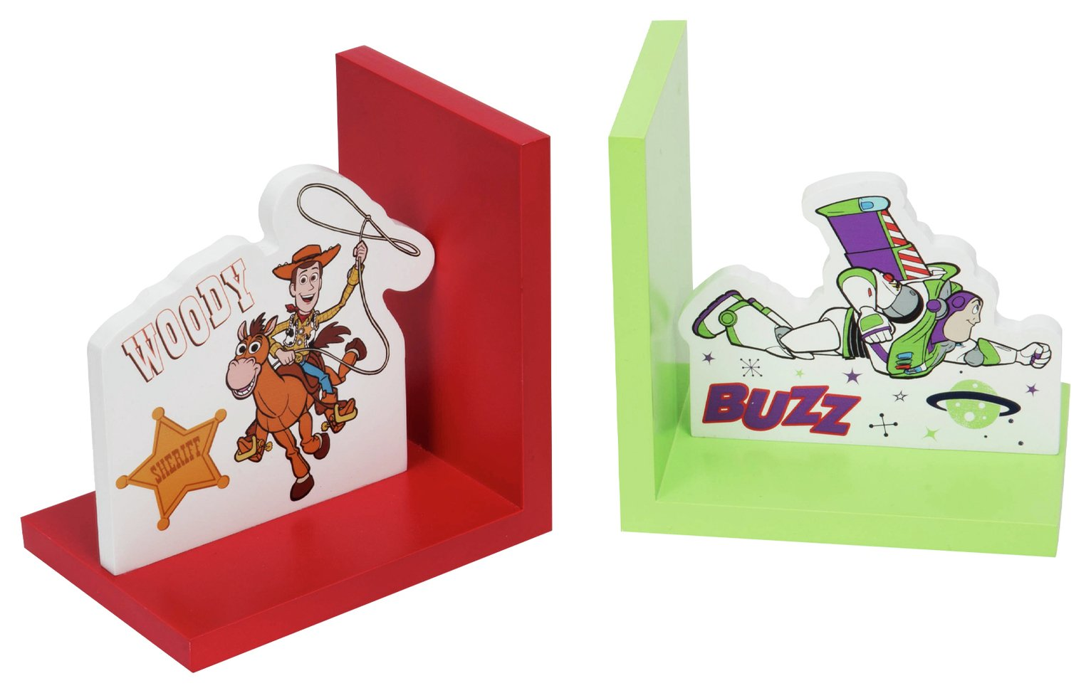 Disney Toy Story Woody & Buzz Bookends